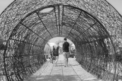 13m lange tunnel strandbar
